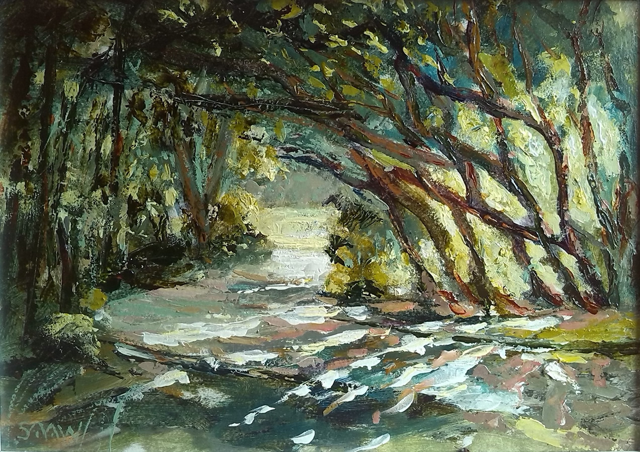 Evening light at Malahide - Robert Shaw
