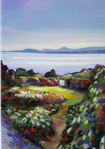 Howth Garden Path - Robert Shaw