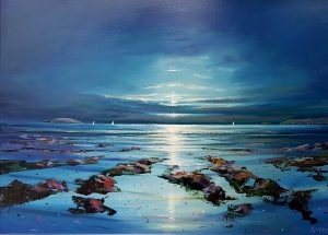 Home to Malahide by moonlight - Robert Shaw