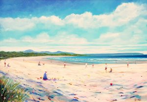 Enniscrone summer beach - Robert Shaw