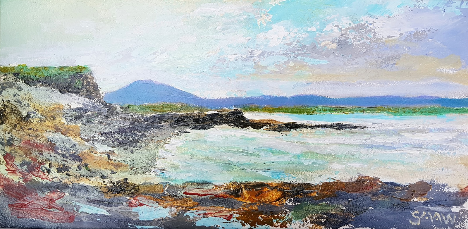 Inishcrone summer clouds - Robert Shaw