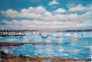 Malahide October mooring - Robert Shaw