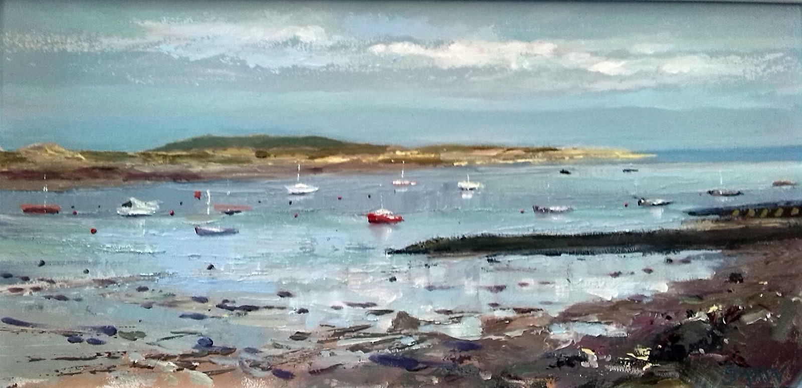 Malahide marina morning - Robert Shaw