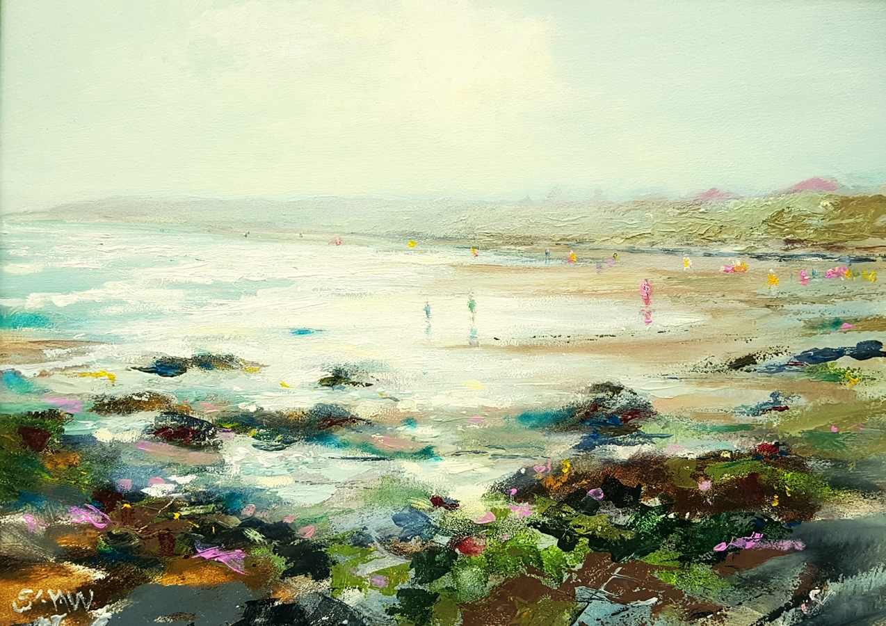 Misty Morning Donabate - Robert Shaw