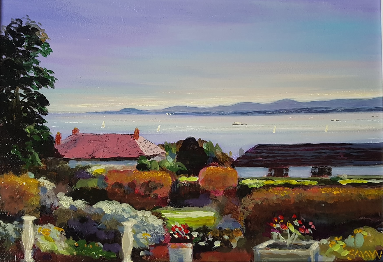 October Howth Garden - Robert Shaw