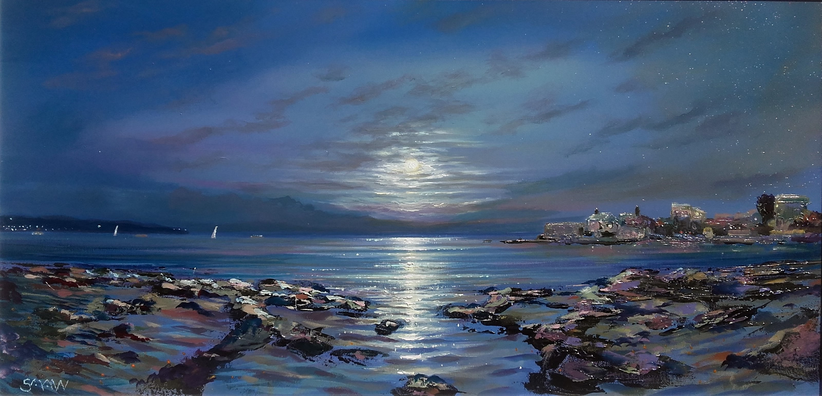 Sandycove Moon - Robert Shaw