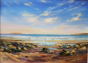 Summer evening at Malahide - Robert Shaw