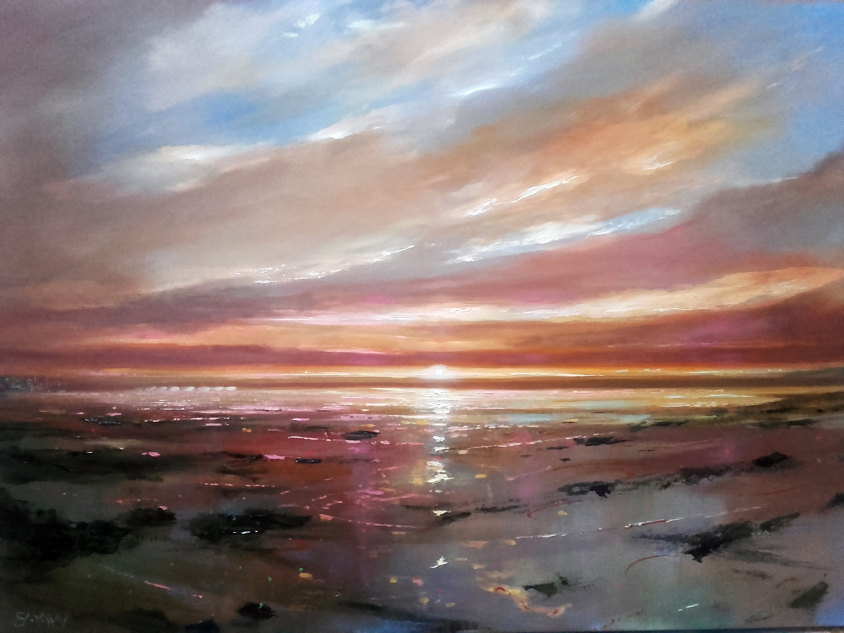 Sunset at Malahide - Robert Shaw
