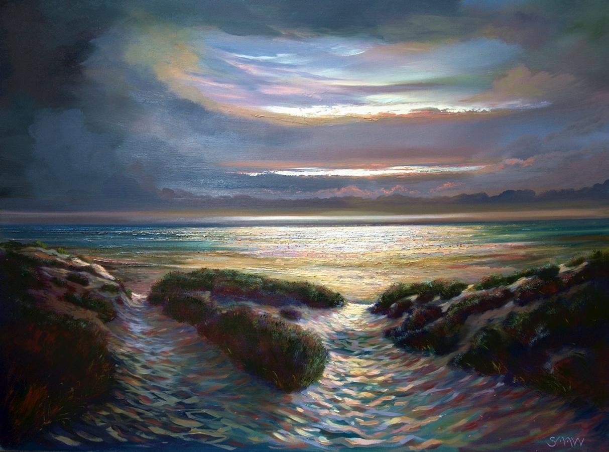 Beach Paths - Robert Shaw
