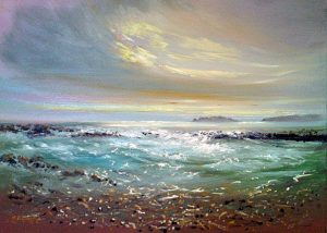 Howth sunrise - Robert Shaw