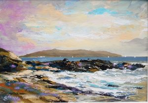 Lambay January afternoon - Robert Shaw