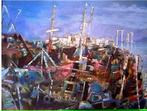 Trawler Pier - Robert Shaw