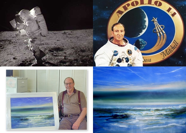 Dr Edgar Mitchell – recieving 'Earthwave'