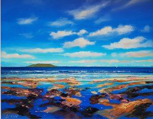 Lambay Blue - Robert Shaw