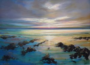 Malahide Estuary Sunset - Robert Shaw