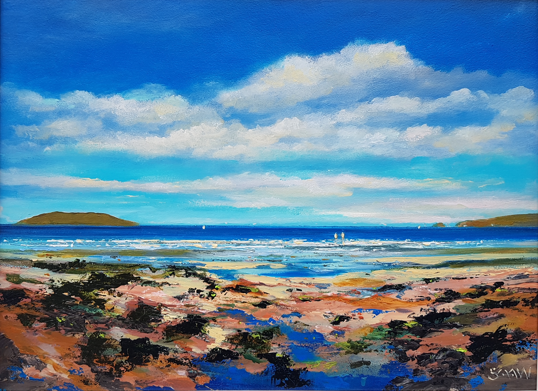 Portmarnock Blue - Robert Shaw